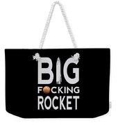 Big Fucking Rocket Bfr Weekender Tote Bag