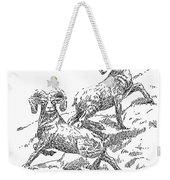 Bighorns Weekender Tote Bag