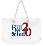 Bill And Ted Weekender Tote Bag