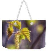 Birch Blooms Weekender Tote Bag