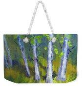 Birch Light Landscape Weekender Tote Bag