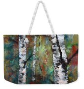 Birch Portrait I Weekender Tote Bag