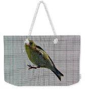 Bird Watching Reversed Weekender Tote Bag