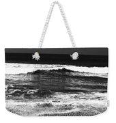 Black And White Beach 7- Art By Linda Woods Weekender Tote Bag