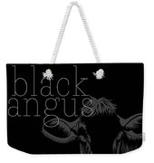 Black Angus Weekender Tote Bag