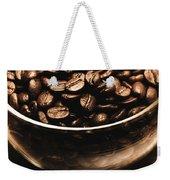 Black Coffee, No Sugar Weekender Tote Bag