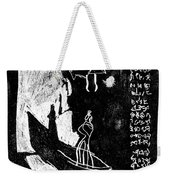 Black Ivory Actual 1b35x Weekender Tote Bag