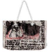 Black Ivory Issue 1b66 Weekender Tote Bag