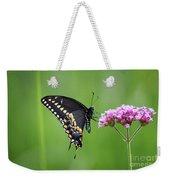 Black Swallowtail Balance Weekender Tote Bag