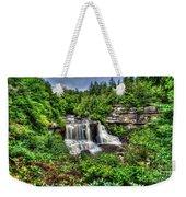Blackwater Falls, Blackwater Falls State Park, West Virginia Weekender Tote Bag