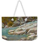 Blindman River, Blackfalds Weekender Tote Bag