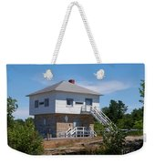 Blockhouse At Kingston Mills On The Rideau Canal Weekender Tote Bag
