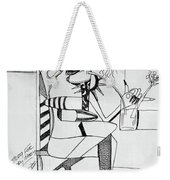 Bloody Mary Weekender Tote Bag by Anthony Falbo
