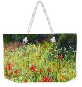 Blooming Field Weekender Tote Bag