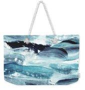 Blue #10 Weekender Tote Bag