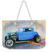 Blue 32 Ford Coupe Weekender Tote Bag