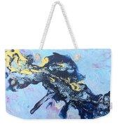 Blue Abstract #3 Weekender Tote Bag