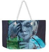 Blue Anorak Weekender Tote Bag