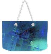 Blue Azure Weekender Tote Bag