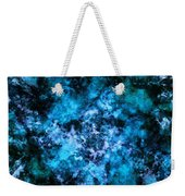 Blue Burst Weekender Tote Bag