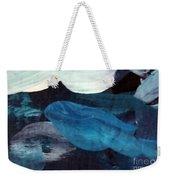 Blue Fish Weekender Tote Bag by Maria Langgle