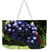 Blue Grape Bunches 5 Weekender Tote Bag