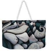 Blue Rock Garden Weekender Tote Bag