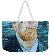 Blue Van Gogh Weekender Tote Bag