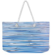 Blue Water Abstract 8621 Weekender Tote Bag