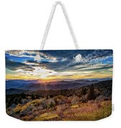 Blueridge Mountain Sunburst Weekender Tote Bag