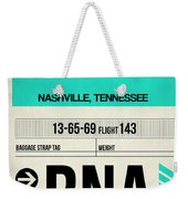Bna Nashville Luggage Tag II Weekender Tote Bag