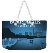 Boardwalk Running Trail Weekender Tote Bag