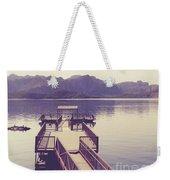 Boat Dock Tonto National Forest Weekender Tote Bag