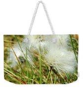 Bog Cotton On The Moor Weekender Tote Bag