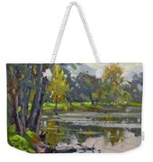 Bond Lake Park Weekender Tote Bag