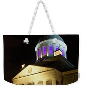 Bonsecours Market At Night In Old Montreal Weekender Tote Bag
