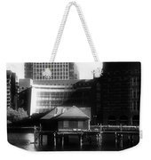 Boston Fort Point Channel Contrast Weekender Tote Bag