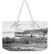 Boston Harbor, View To The Nw Weekender Tote Bag by Joe Jeffers