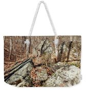 Boulders Along The Trail Weekender Tote Bag