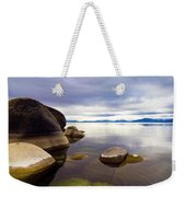 Boulders At Sand Harbor Weekender Tote Bag