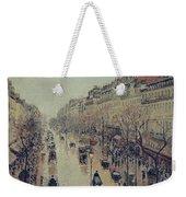 Boulevard Montmartre - Afternoon, In The Rain, 1897 Weekender Tote Bag