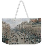Boulevard Montmartre - Afternoon, Sunlight, 1897 Weekender Tote Bag