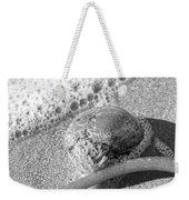 Bowling Ball Beach California Sand Story Weekender Tote Bag