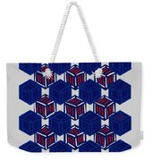 Boxed Patriot Weekender Tote Bag