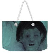 Boy With A Bird Weekender Tote Bag