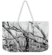 Branches In Black And White Weekender Tote Bag