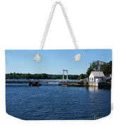 Brass Point Bridge On The Rideau Canal Ontario Weekender Tote Bag