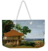 Brazilian Landscape With A Worker   S House  Weekender Tote Bag