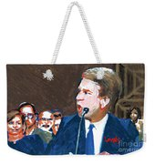 Brett Kavanaugh Testifies Before Senate Weekender Tote Bag
