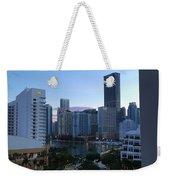 Brickell Key Miami Florida Weekender Tote Bag